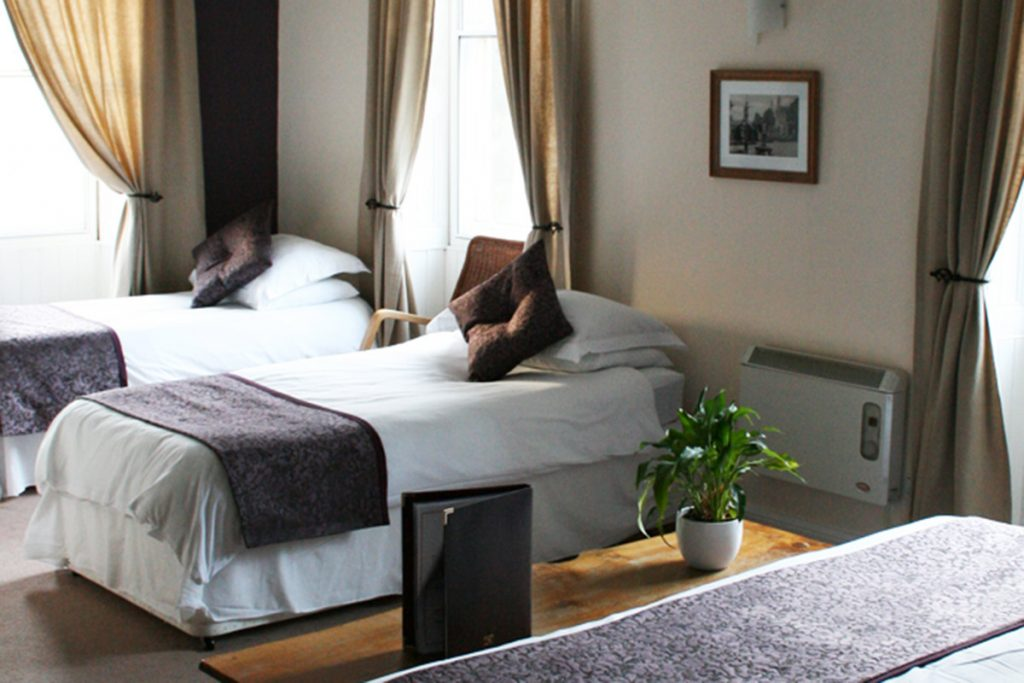 En-suite rooms at the Gordon Arms