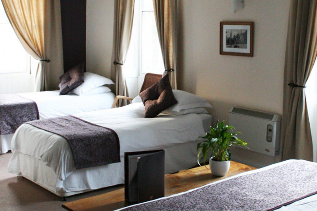 En-suite rooms at the Gordon Arms